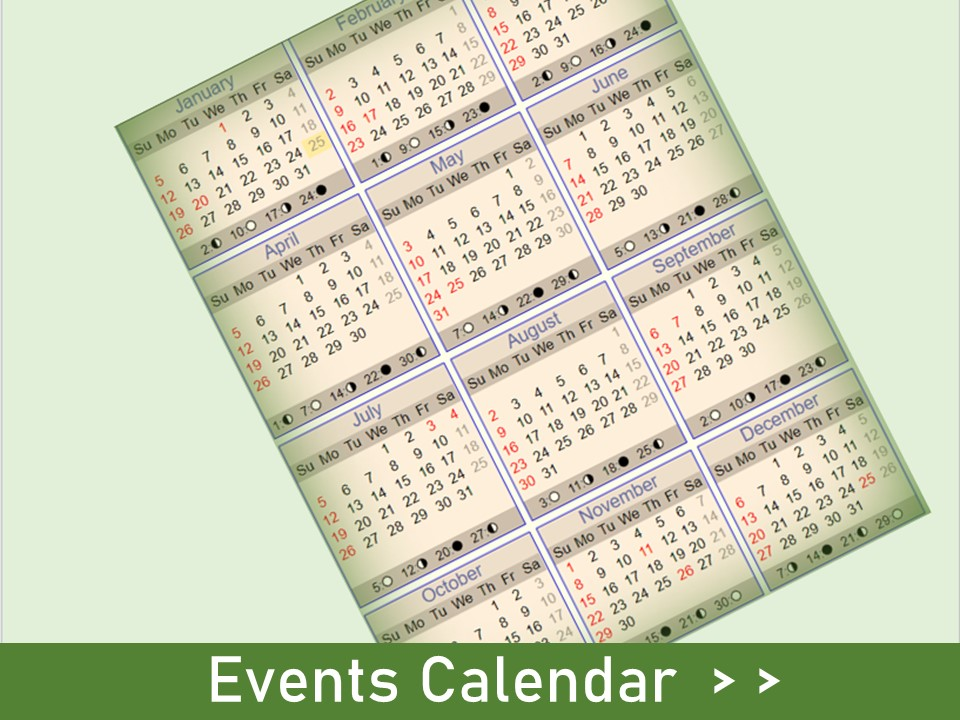 Our calendar is the go-to resource for sustainability events community wide!