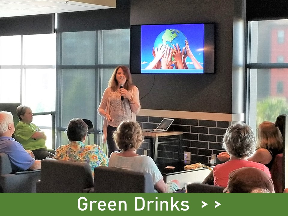 Green Drinks - our fun, signature event - learn all about it here!